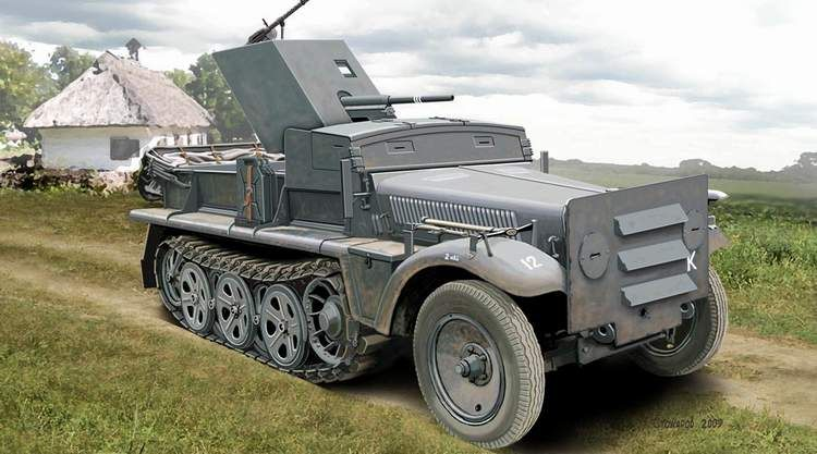 Ace Model 37 mm PaK 35/36 auf Sd.Kfz 10