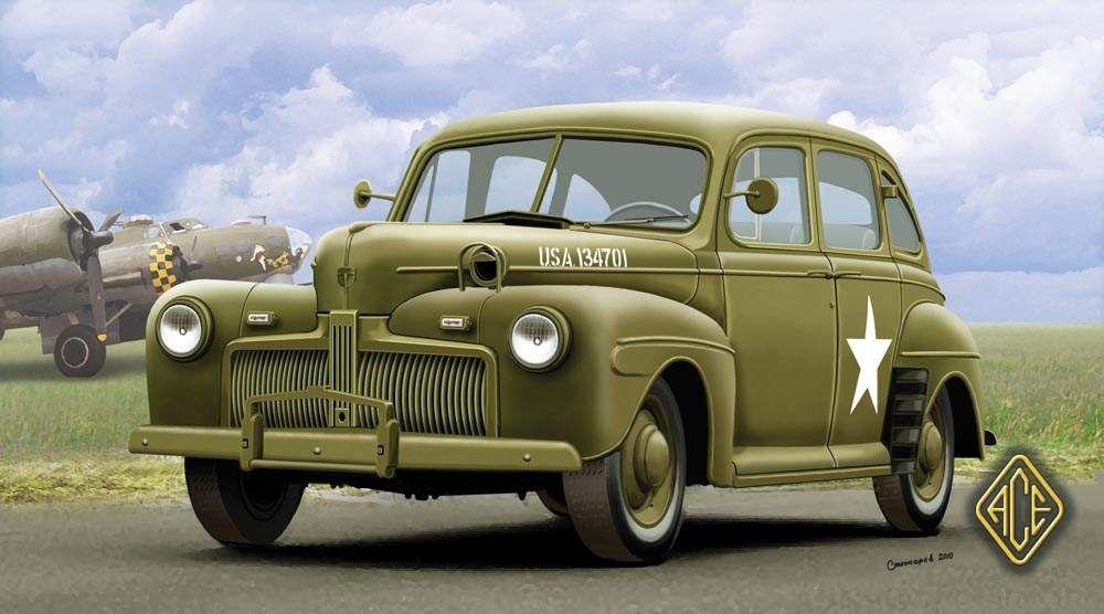 Ace Model US Army Staff Car model 1942