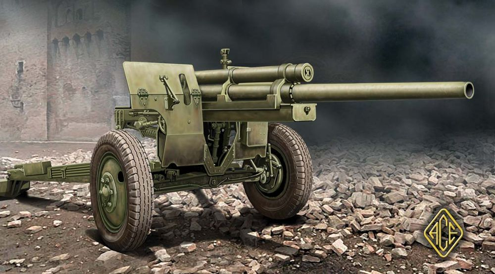 Ace Model U.S. 3inch Anti-tank Gun M-5 on Carriage