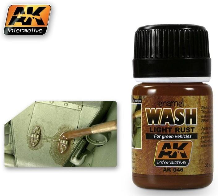 AK Light rust wash