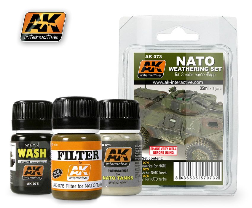 AK Nato Weathering Set