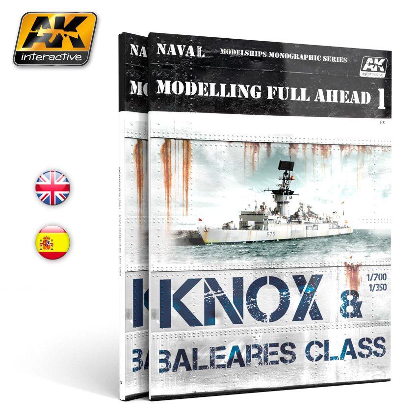 MODELLING FULL AHEAD 1 KNOX & BALEARES CLASS