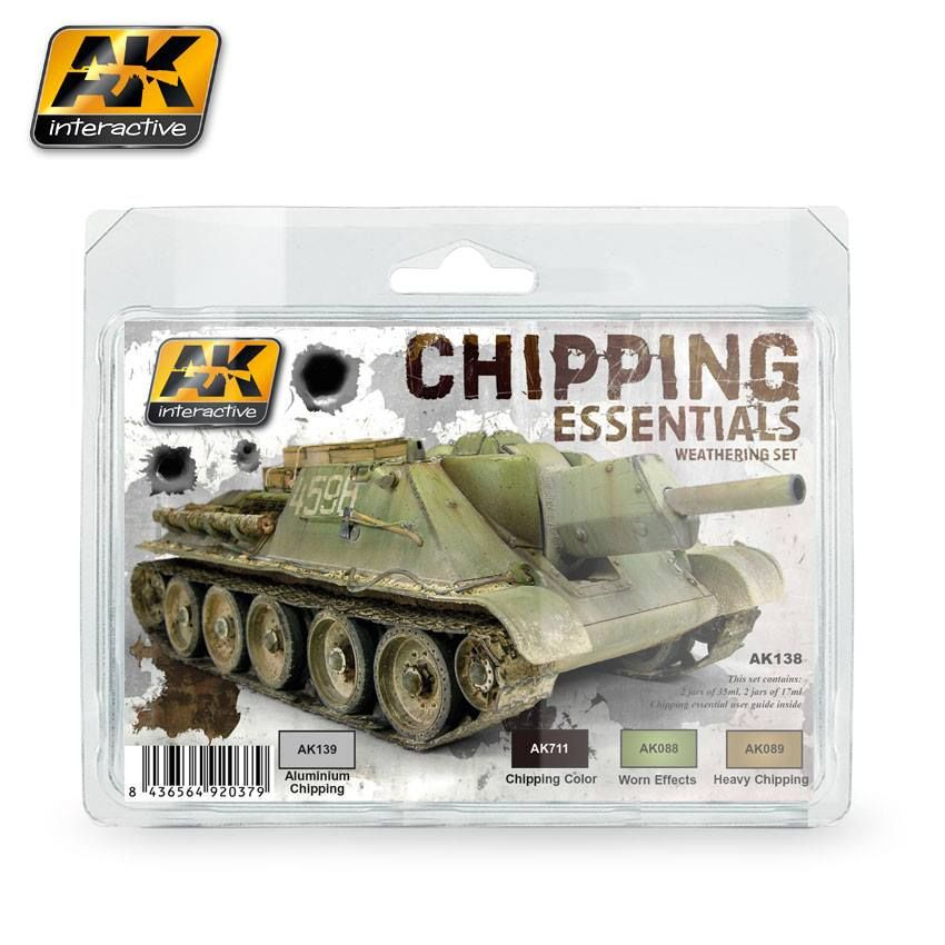 AK CHIPPING ESSENTIALS WEATHERING SET