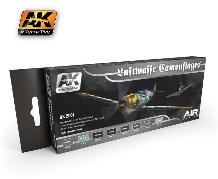 AK Luftwaffe Camouflages Colors Set