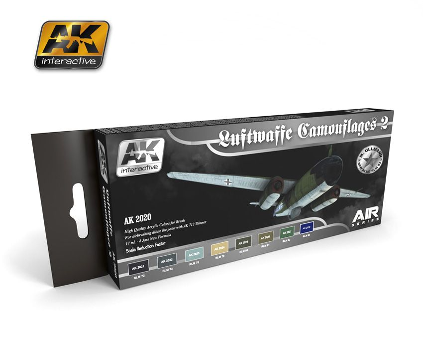 AK Luftwaffe Camouflages Vol.2 Colors Set