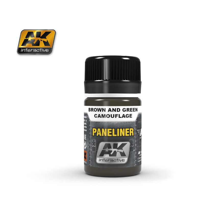 AK Paneliner For Brown And Green Camouflage