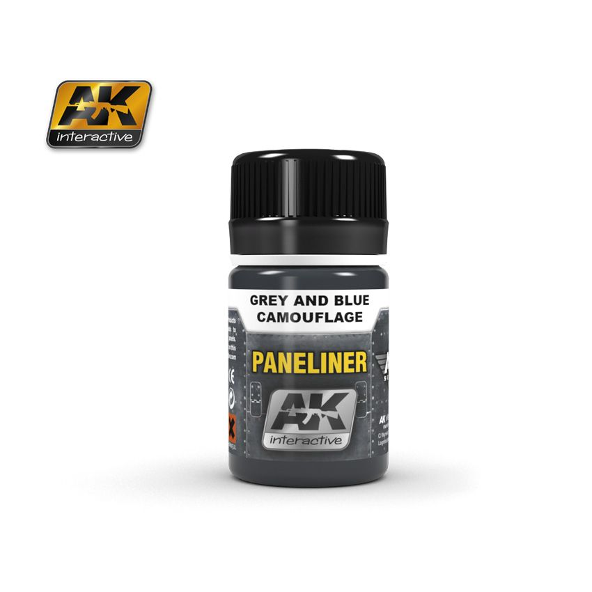 AK Paneliner For Grey And Blue Camouflage