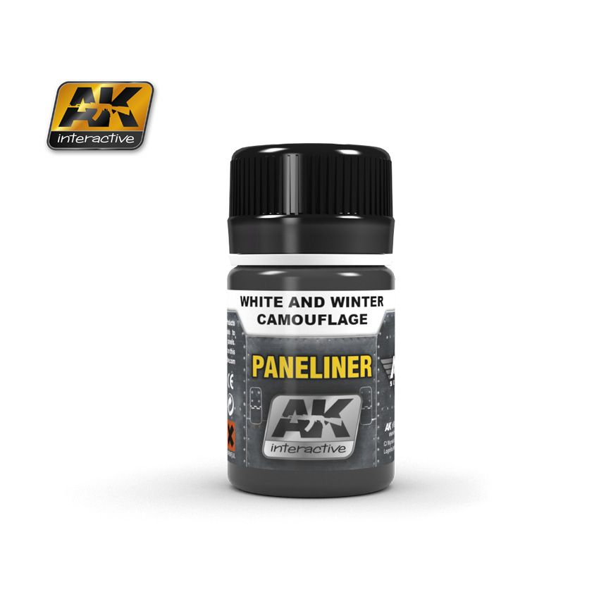 AK Paneliner For White And Winter Camouflage