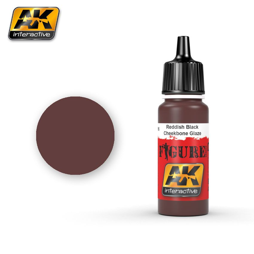 AK REDDISH BLACK - CHEEKBONE GLAZE