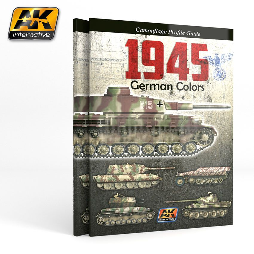 AK 1945 GERMAN COLORS. CAMOUFLAGE PROFIL GUIDE