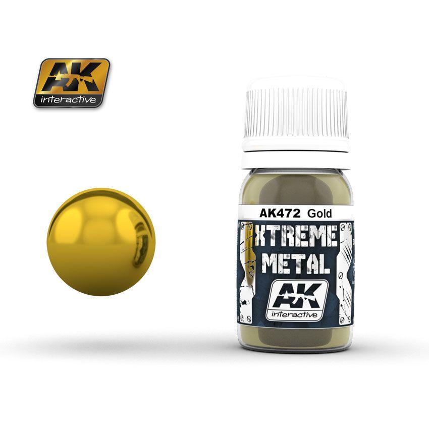 AK Xtreme metal gold
