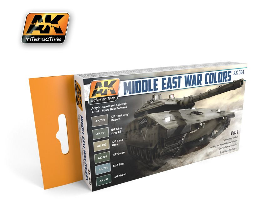 AK Middle East War Colors Vol. 1