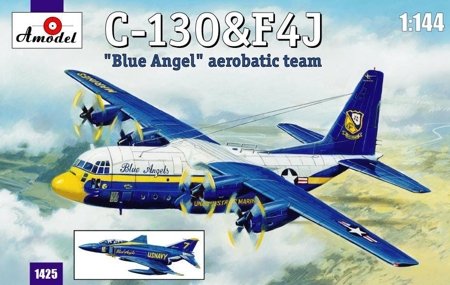 Amodel C-130 & F4J 'Blue Angel' Aerobatic team