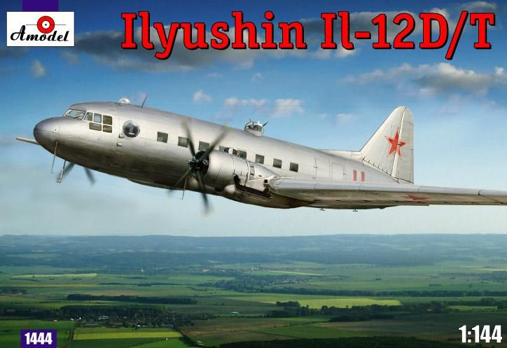 Amodel IIyushin IL-12D/T