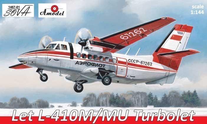 Amodel Let L-410M/MU Turbolet