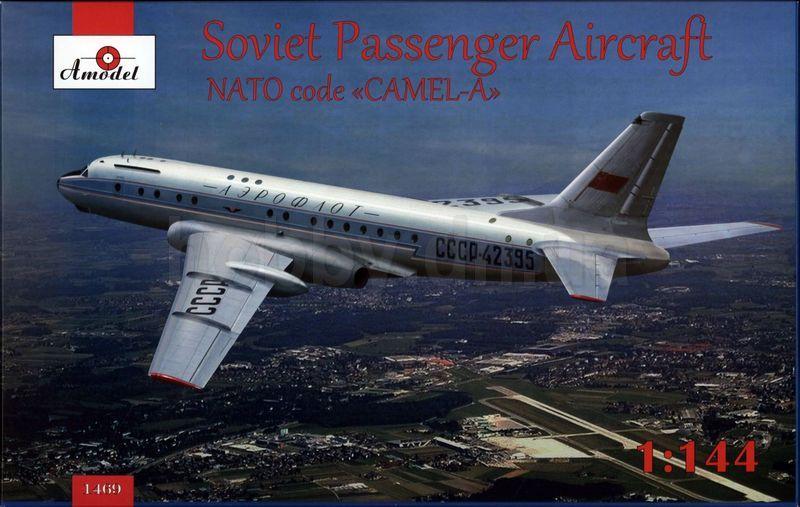 Amodel Tupolev Tu-104 airliner, Aeroflot