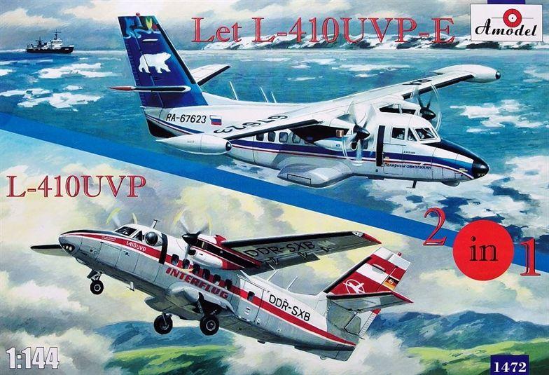 Amodel Let L-410UVP-E & L-410UVP aircraft