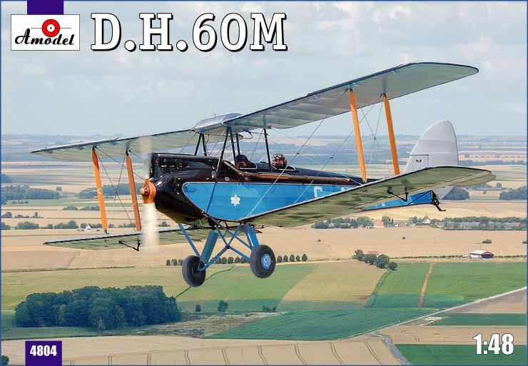 Amodel De Havilland DH.60M Metal Moth