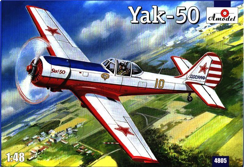Amodel Yakolev Yak-50