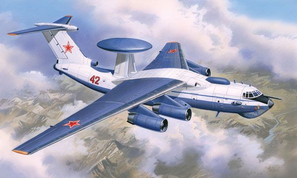 Amodel A-50 Soviet radio supervision aircraft