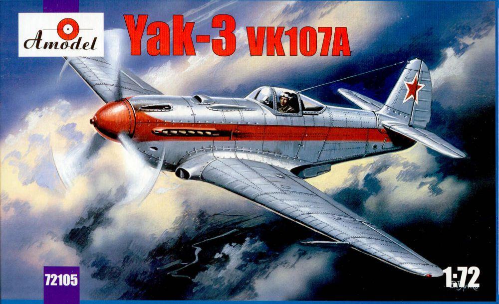 Amodel Yakovlev Yak-3 VK107A Soviet fighter