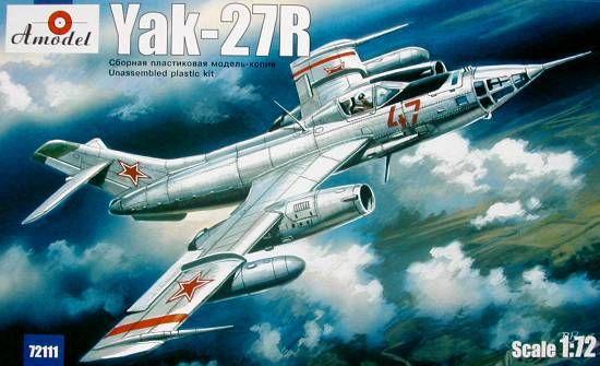 Amodel Yakovlev Yak-27R Soviet interceptor
