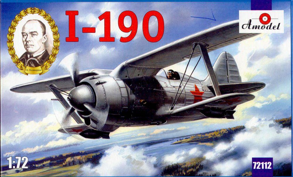 Amodel I-190 Soviet aircraft