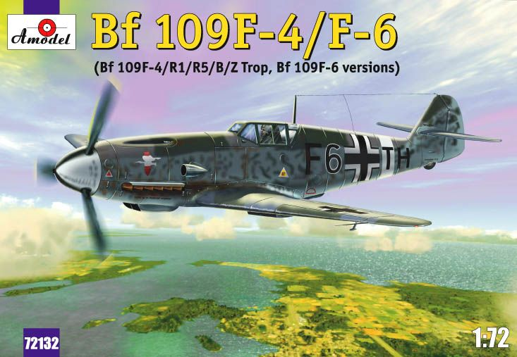 Amodel Messerschmitt Bf-109F4/F6