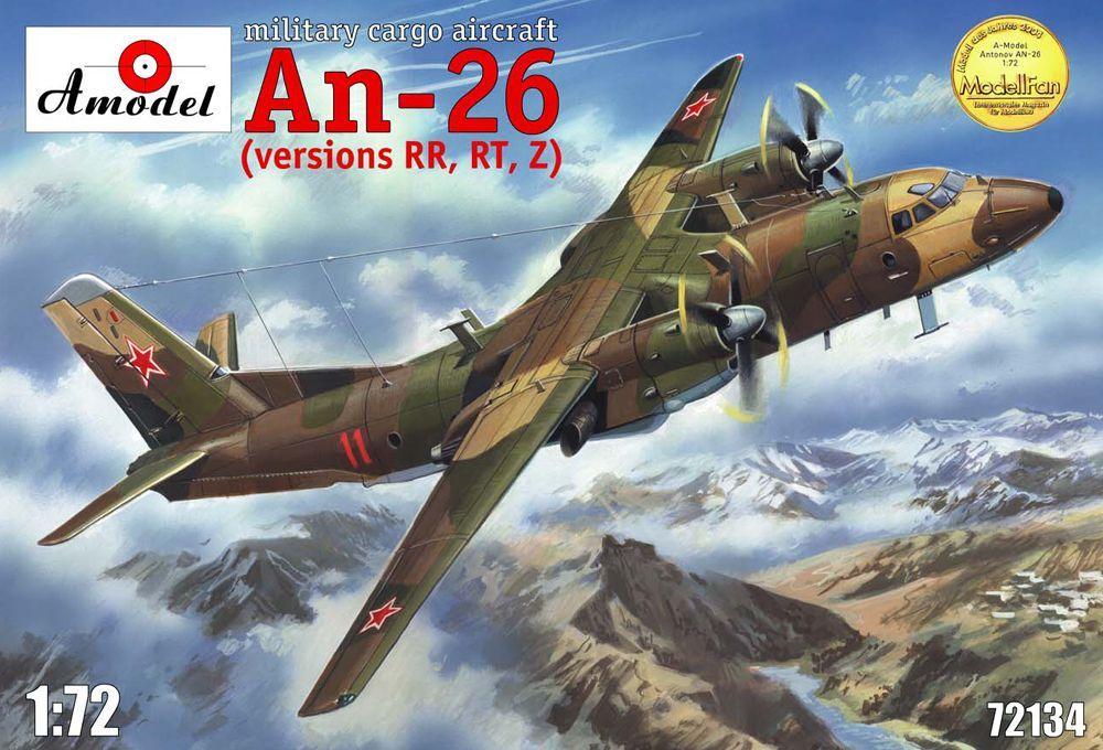 Amodel Antonov An-26 RR,RT,Z version