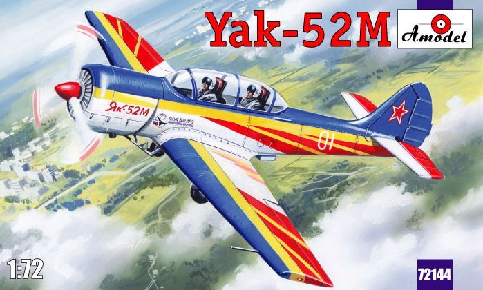 Amodel Yak-52M two-seat sporting aircraft