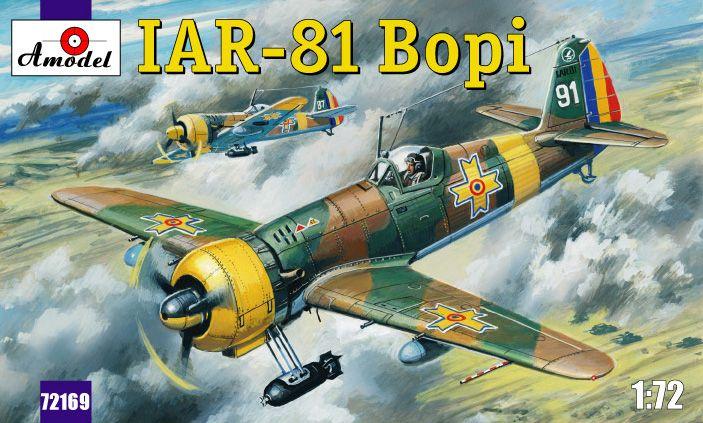 Amodel IAR-81 'Bopi' Romanian fighter