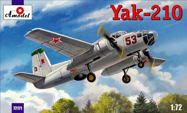 Amodel Yak-210 Soviet trainer aircraft