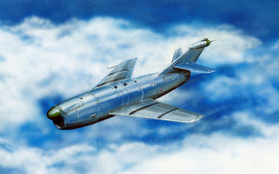 Amodel KS-1/ KRM-1 Soviet guided missile
