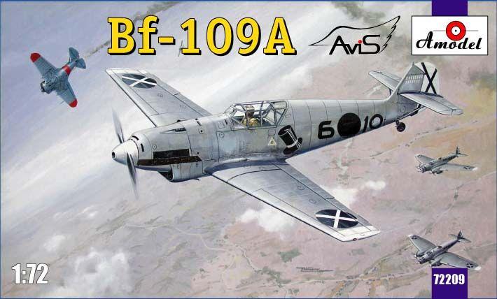 Amodel Messerschmitt Bf-109A German fighter