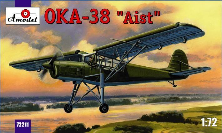 Amodel Antonov OKA-38 'Aist'