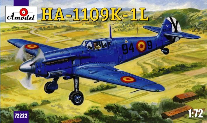 Amodel HA-1109-K1L Spanish fighter