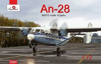 Amodel Antonov An-28 Aeroflot