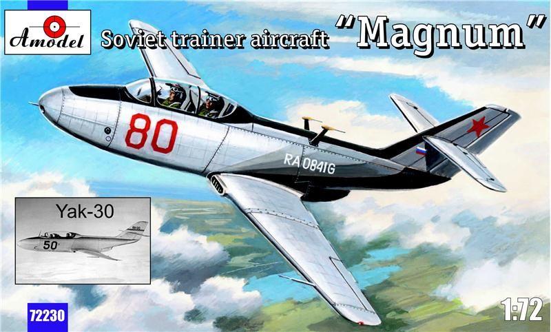 "Amodel Yak-30 ""Magnum"" Soviet training aircraft"