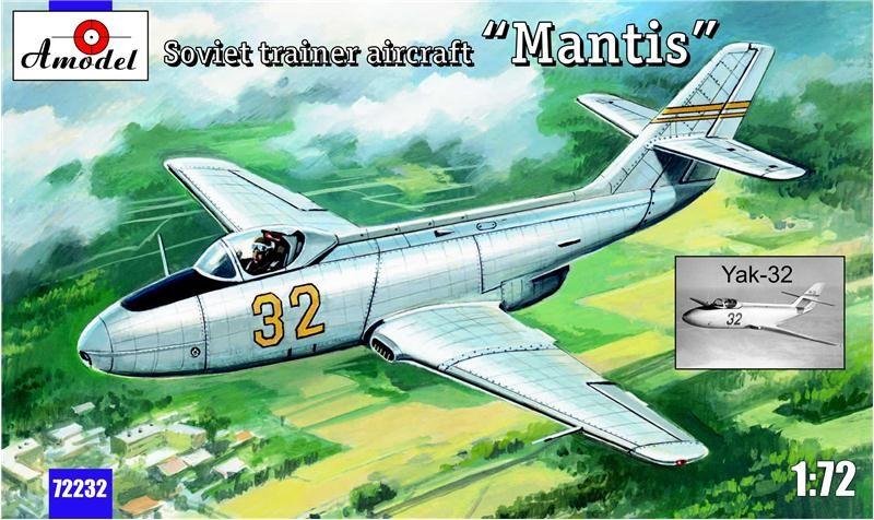"Amodel Yak-32 ""Mantis"" Soviet trainer aircraft"