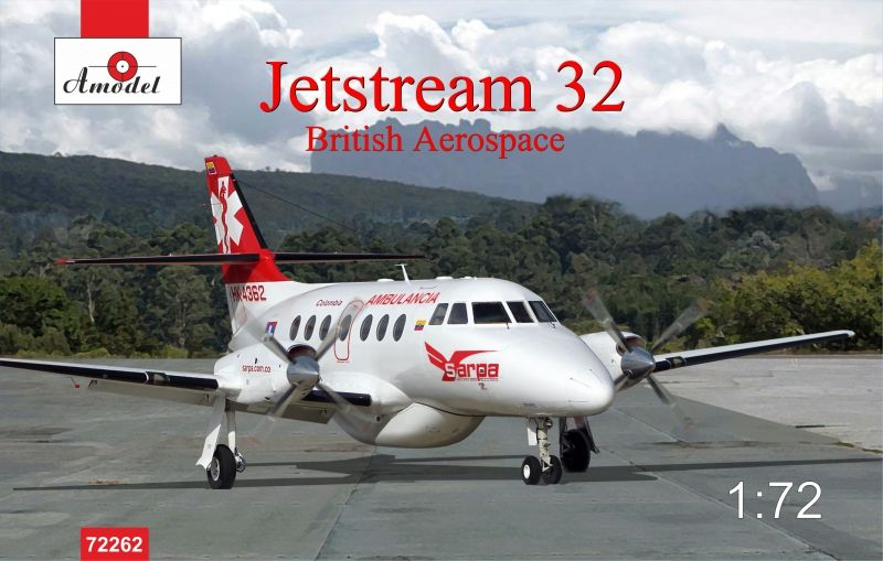 Amodel Jetstream 32 British airliner