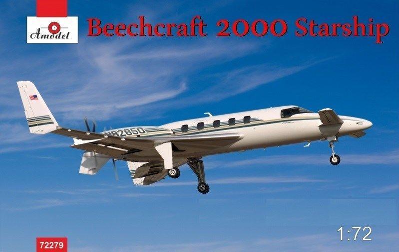 Amodel Beechcraft 2000 Starship N82850
