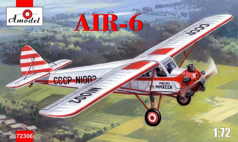 Amodel AIR-6 light civil aircraft