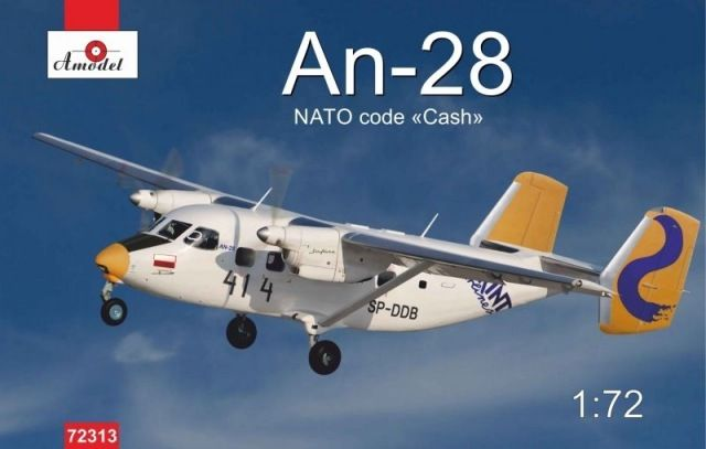 Amodel Antonov An-28 Polish airlines