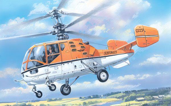 Amodel Kamov Ka-15M Soviet civil helicopter