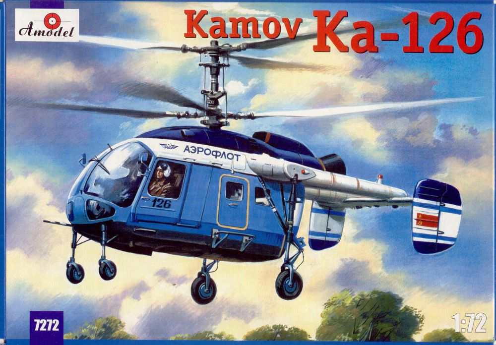 Amodel Kamov Ka-126 Soviet light helicopter