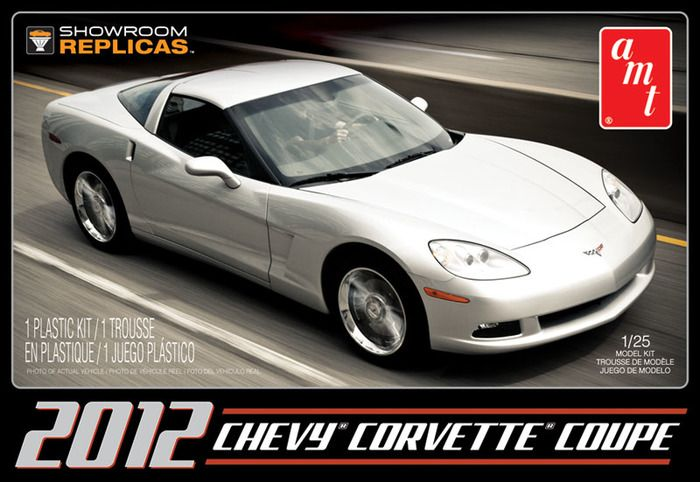 AMT 2012 Chevy Corvette Coupe