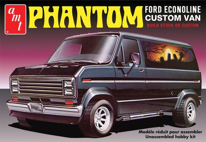 "AMT 1976 Ford Custom Van ""Phantom"""