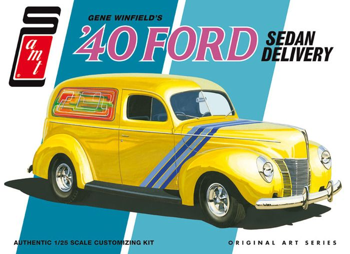 AMT 1940 Ford Sedan Delivery