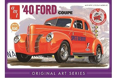AMT 1940 Ford Coupe Original Art