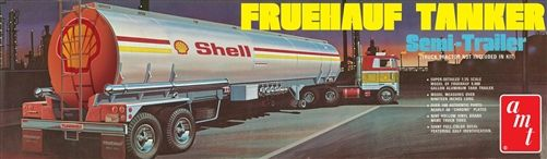 AMT Shell Fruehauf Tanker Trailer